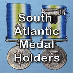 South Atlantic Medal Holders