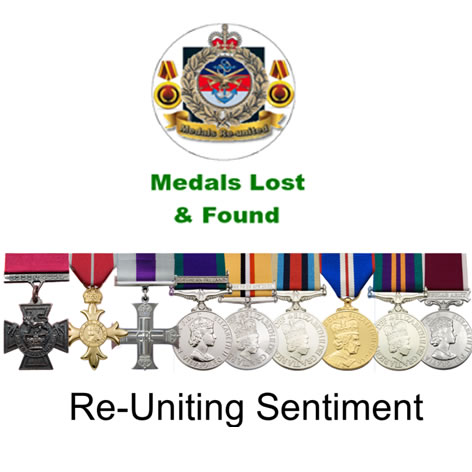 Medals Lost and Found