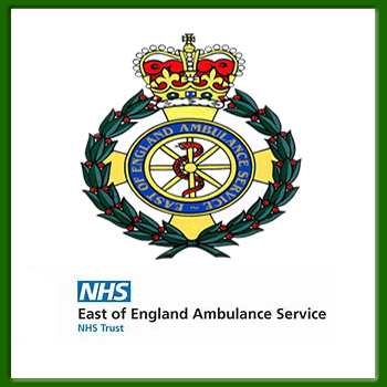 East of England Ambulance Service - covering Bedfordshire