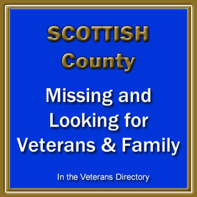 Dumfriesshire Missing and Looking for Veteran's & Family