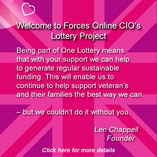 Forces Online CIO One Lottery Details